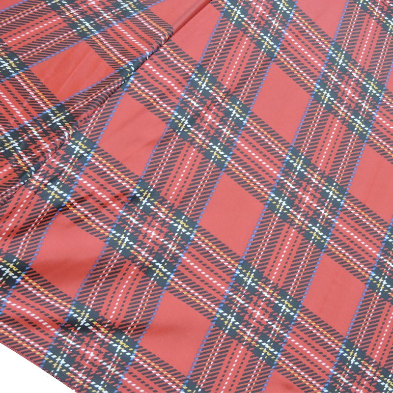 Tartan Umbrella Close up