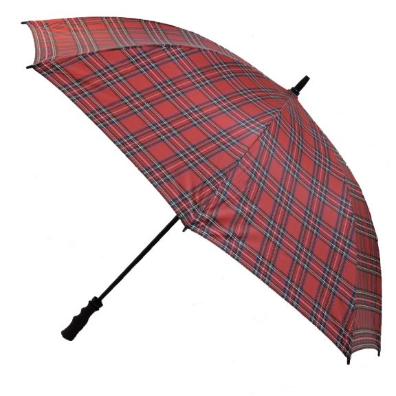 Tartan Umbrella Side