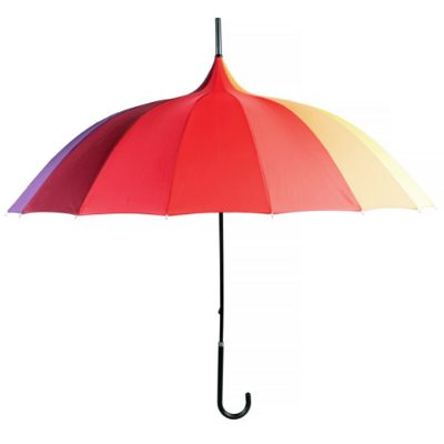 Rainbow Pagoda Umbrella 2