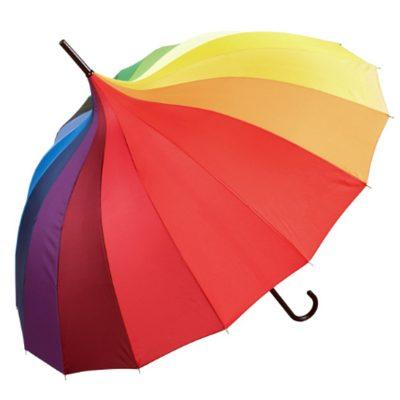 Rainbow Pagoda Umbrella
