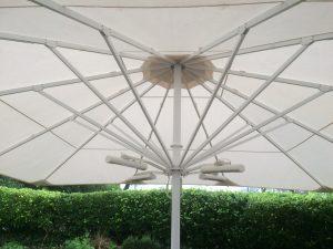 Giant Patio Parasol close up 2
