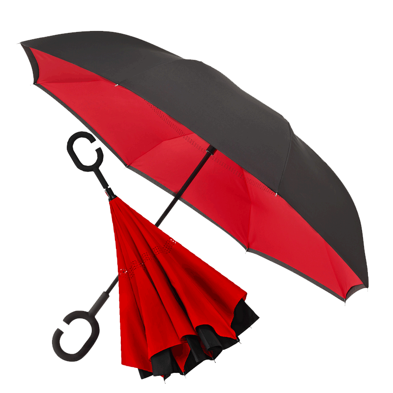 Inside Out Umbrella Cutout