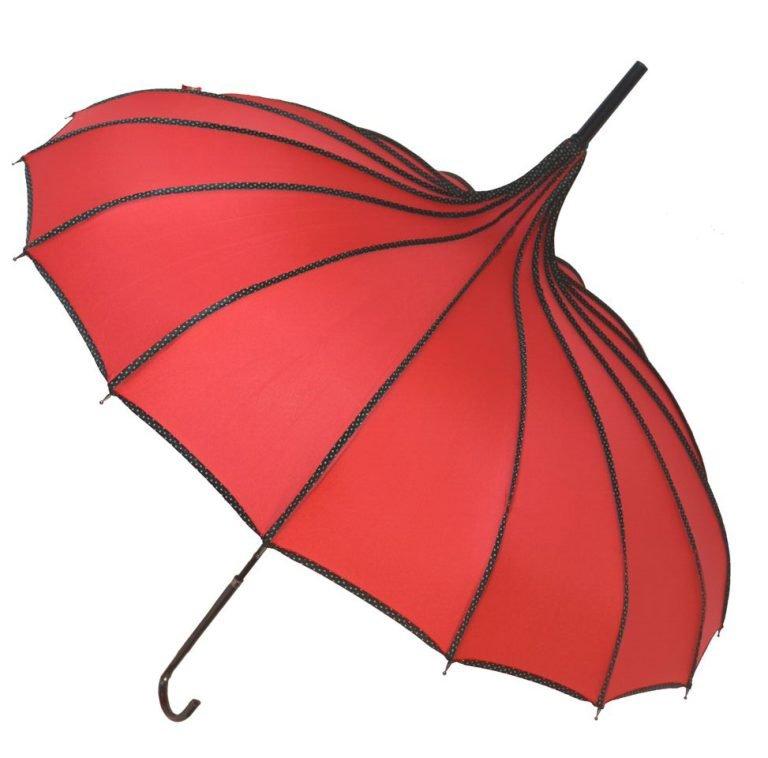 Red Pagoda Umbrella - Princess