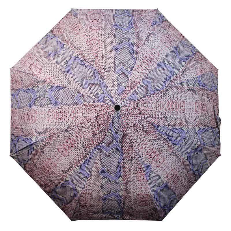 Snakeskin Umbrella / snakeskin designer compact umbrella
