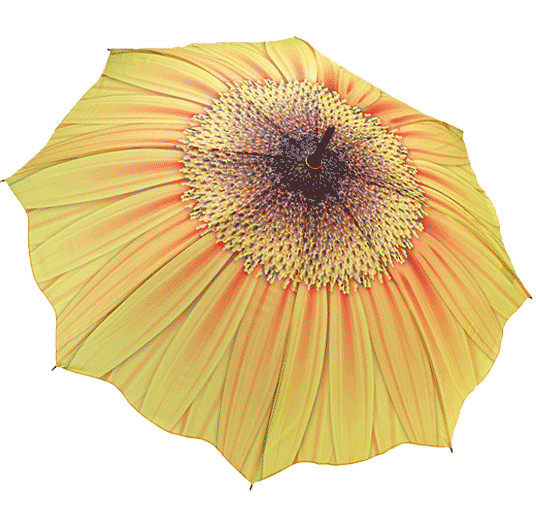 Yellow Flower Umbrella