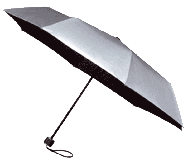 Silver UV Protection Umbrella