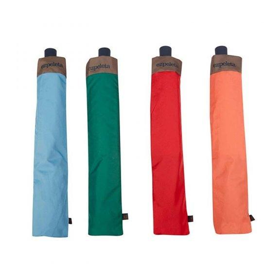 Ezpeleta TriColor Automatic Folding Golf Umbrellas with sleeves