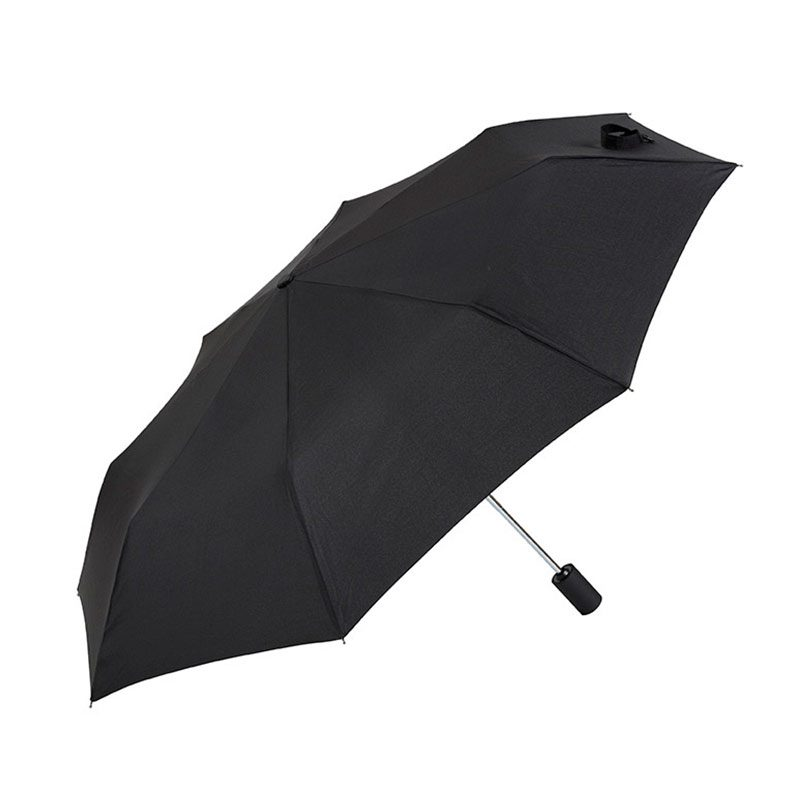Ezpeleta Fully Automatic Black Folding Zipped Sleeve Umbrella open