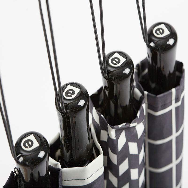 Ezpeleta Fully Automatic Monochrome Compact Umbrella handles