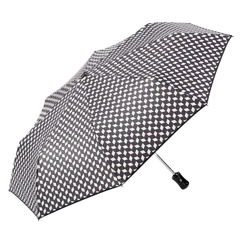 Ezpeleta Fully Automatic Monochrome Compact Umbrella 1 open