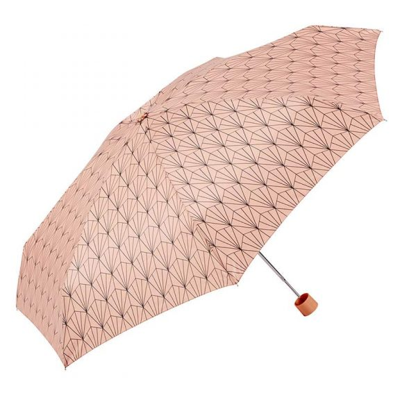 Ezpeleta Art Deco Mini Umbrella with Zipped Pouch 1 open