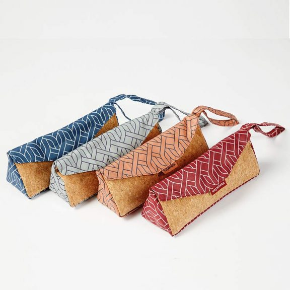Ezpeleta Rope Print Mini Handbag Umbrellas angled