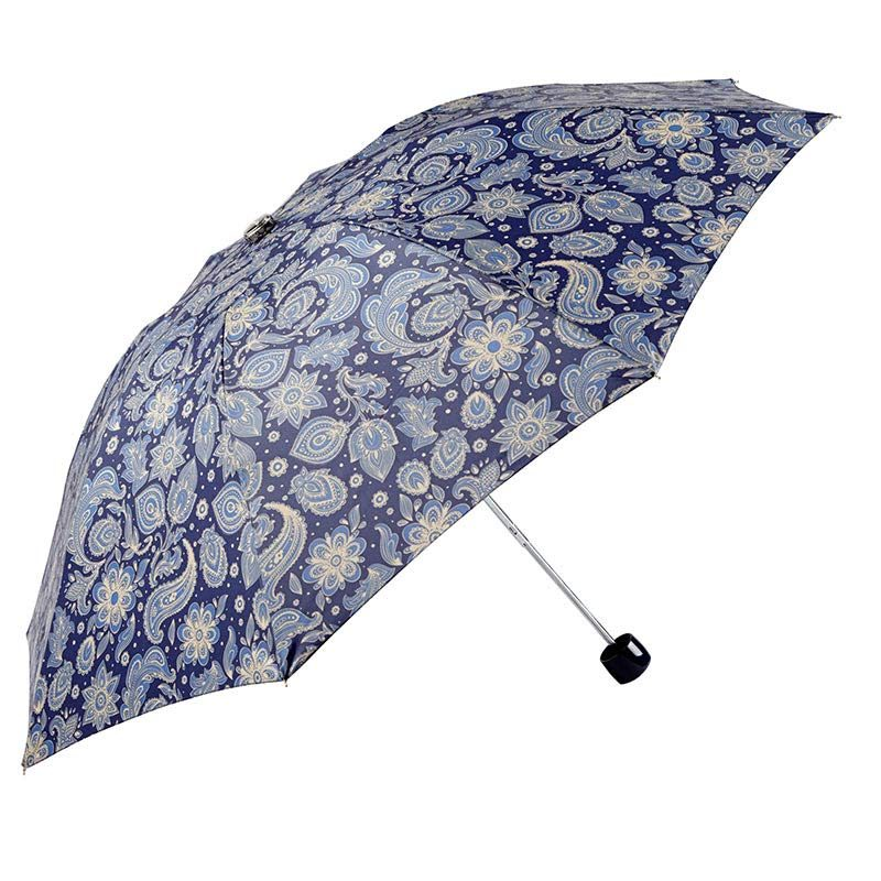 Ezpeleta Vivid Paisley Automatic Folding Umbrella 1 open