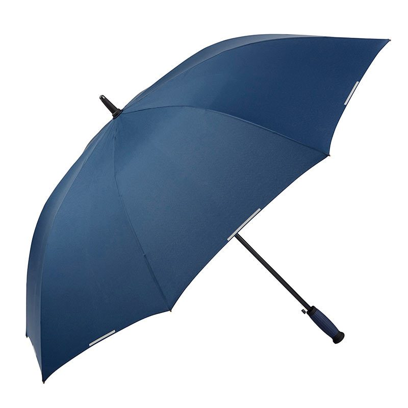 Ezpeleta Automatic Scotchlite Reflective Trim Golf Umbrella 2 open