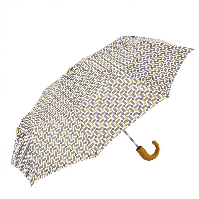 Ezpeleta Retro Geometric Print Folding Umbrella 1 open