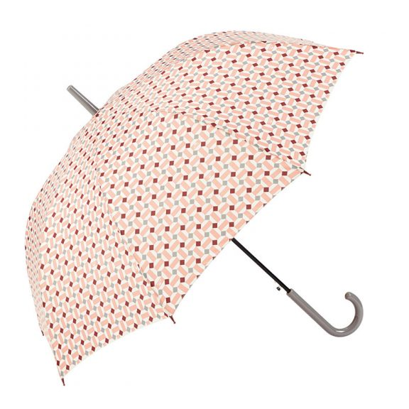 Ezpeleta Vintage Geometric Print Umbrella 3 open