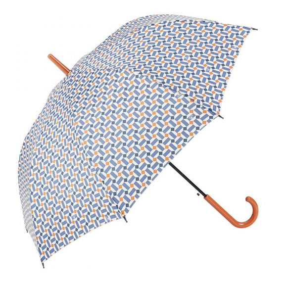 Ezpeleta Vintage Geometric Print Umbrella 2 open