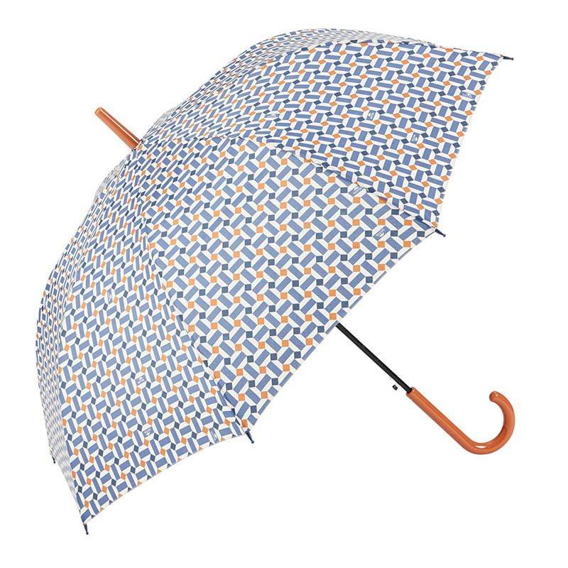 Ezpeleta Vintage Geometric Print Umbrella 2 open