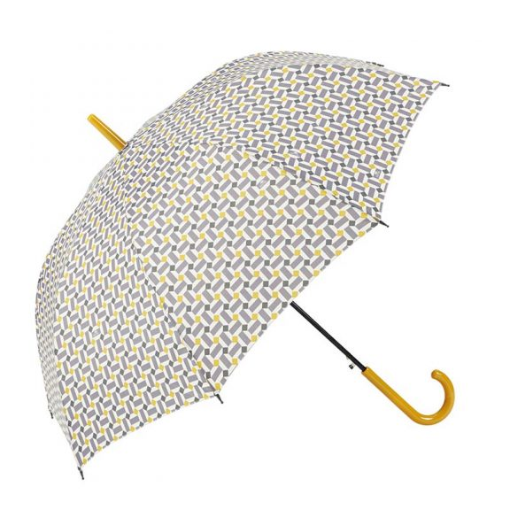 Ezpeleta Vintage Geometric Print Umbrella 1 open