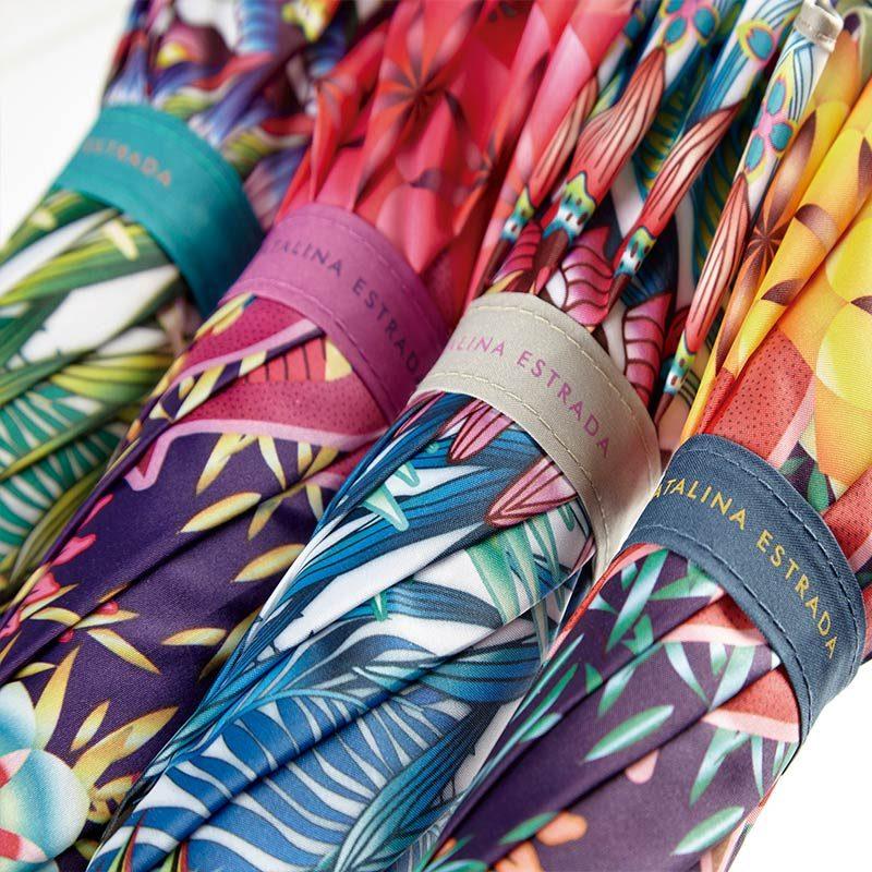 Ezpeleta Tropicana Floral Automatic Umbrella