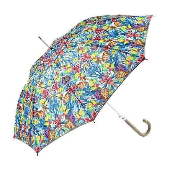 Ezpeleta Tropicana Floral Automatic Umbrella 4 open