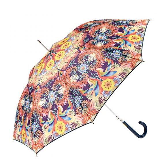 Ezpeleta Tropicana Floral Automatic Umbrella 3 open
