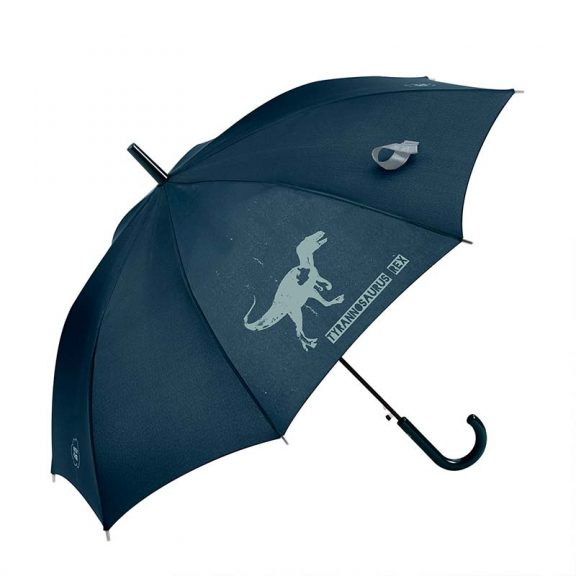 Dinosaur Kids Automatic Umbrella 1 open