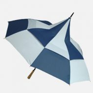 Big Top Blue / White Promotional Umbrella