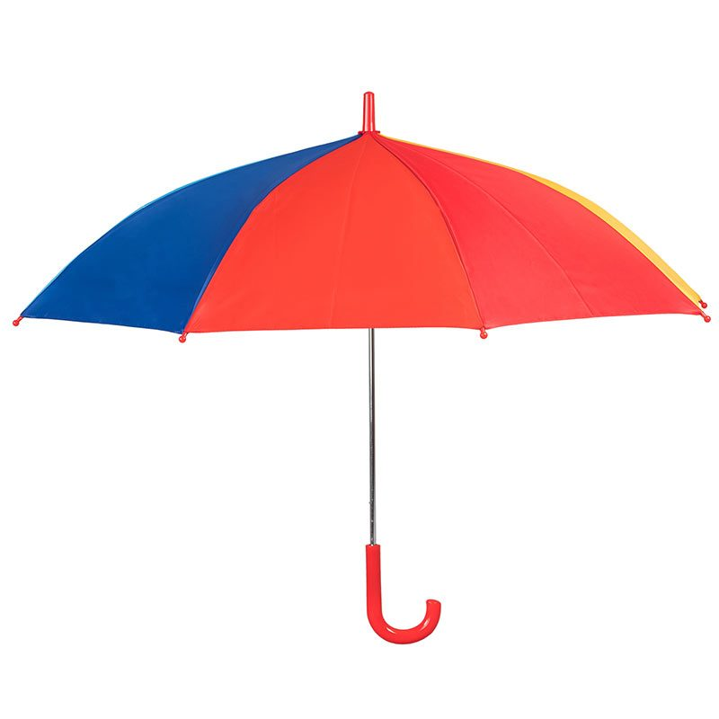 Kids Rainbow Umbrella side view
