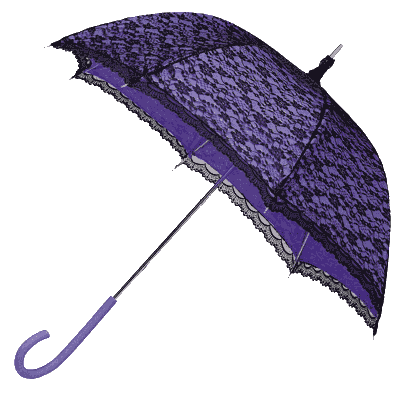 Purple Lace Vintage Umbrella