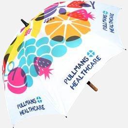 Spectrum Wood Promotional Umbrella