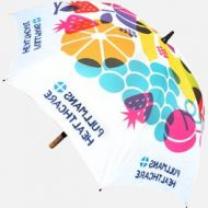 Spectrum Wood Promotional Umbrella