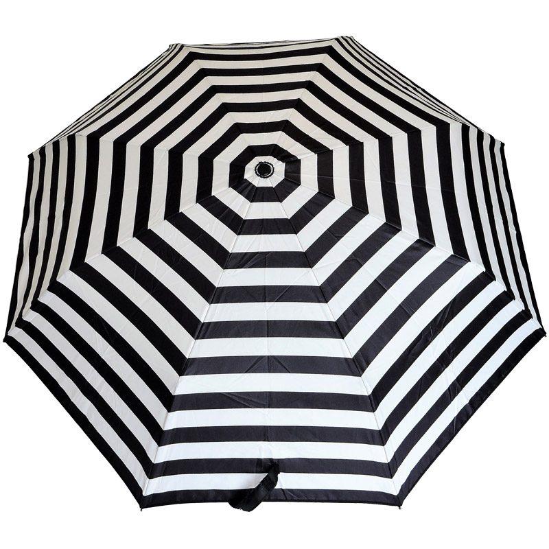 Ezpeleta Fully Automatic Monochrome Compact Umbrella close up