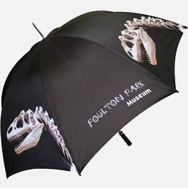 Bedford promotional golf umbrella