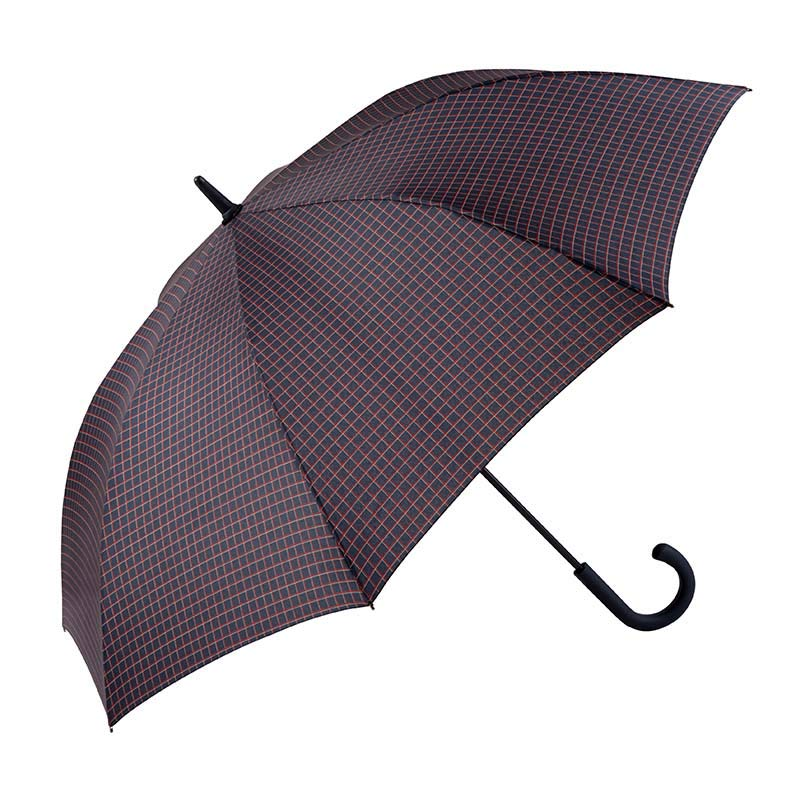 Ezpeleta Gents Grid Pattern Automatic Walking Umbrella