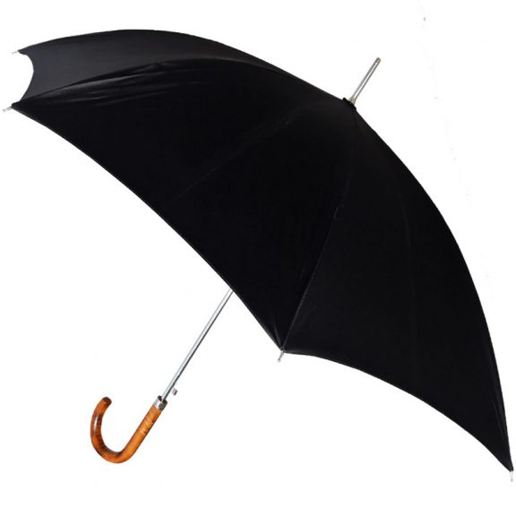 Ezpeleta Handmade Black Automatic Umbrella