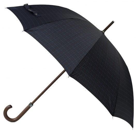 Mens pinstripe stick umbrella