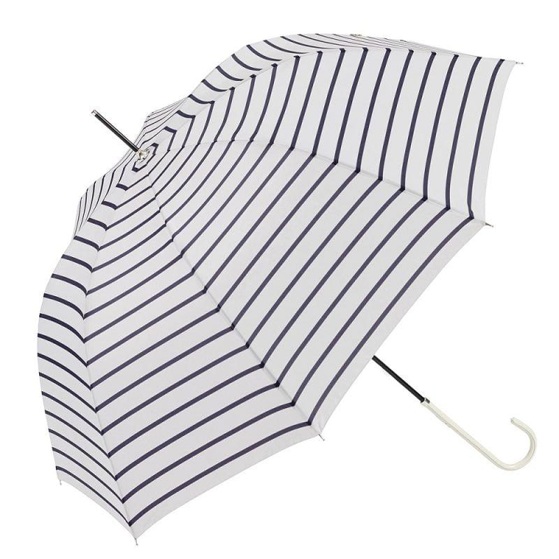 Ezpeleta Striped Ladies UV Parasol UPF 50+ navy