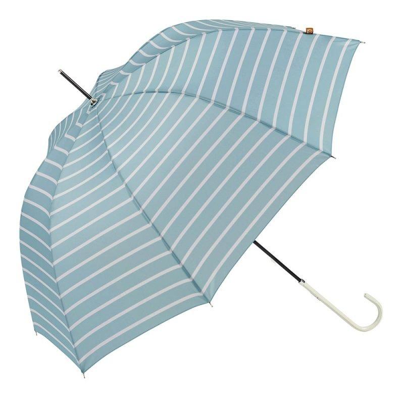 Ezpeleta Striped Ladies UV Parasol UPF 50+ blue
