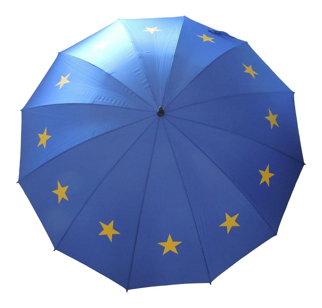 European Union Eu Flag Umbrella Windproof Golf Size Big