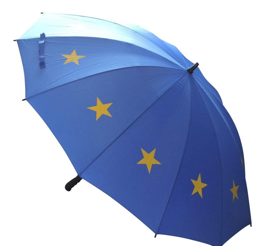 EU Flag Umbrella