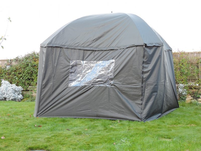 PitchPal Umbrella Tent angled