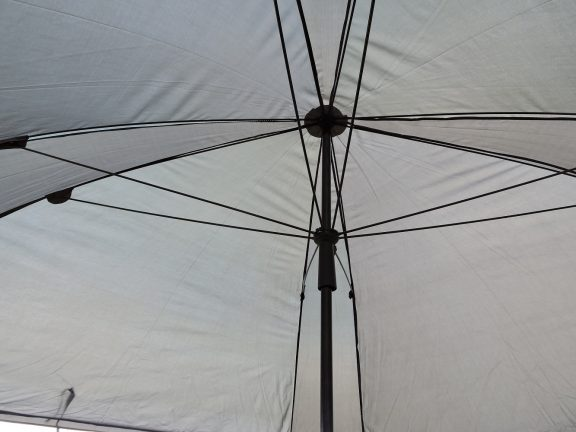 PitchPal Umbrella Tent canopy underside