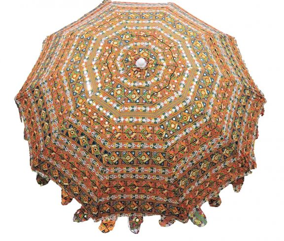 Indian Garden Parasol Design 8