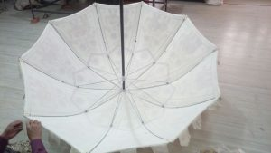 Boho parasol Indian Garden Umbrella inner frame