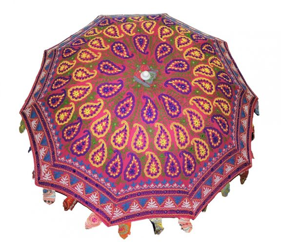 Indian Garden Parasols Design 9