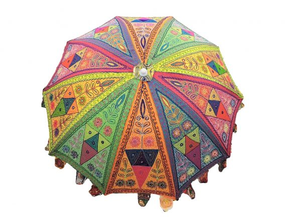 Indian Garden Umbrella Design 1