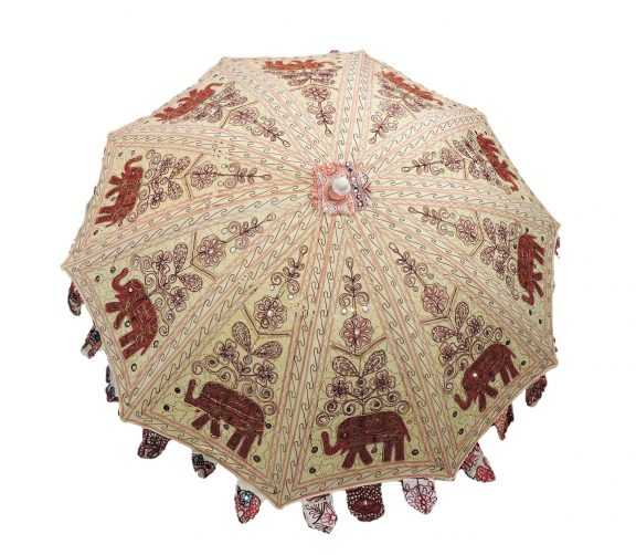 Indian Garden Umbrella Design 2