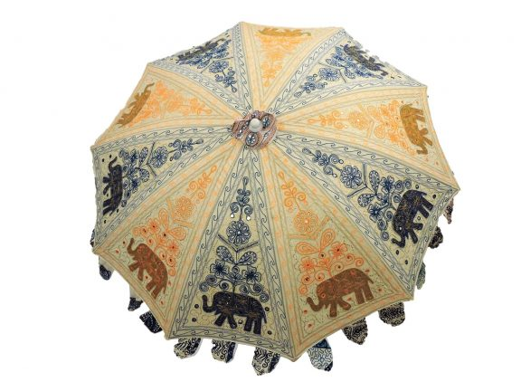 Indian Garden Umbrella Design 3
