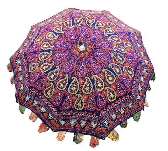 Indian Garden Umbrella Design 4